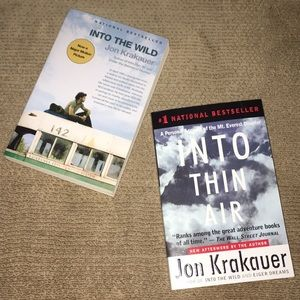 Other - INTO THE WILD INTO THIN AIR BY JON KRAKAUER